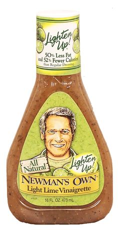 Light Lime salad dressing! Yummy!