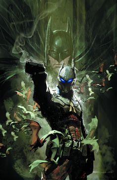 Witness the birth of Gotham City's newest villain, the Arkham Knight, in this stunning new miniseries written by Peter J. Tomasi, the man behind the hit series BATMAN: ARKHAM … Batman Arkham Knight, Comic Book Characters, Comic Book Heroes, Comic Books Art, Comic Art, Comic Pics, Arte Dc Comics, Bd Comics, Nightwing