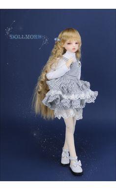MSD - Haring Skirt (White Stria)