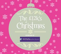 Have you heard: Winn Solicitors have teamed up with Metro Radio to bring you their fabulous £12k's of Christmas #Competition - It's your chance to win an amazing £12,000!  For more information and details on how to enter, please follow the link