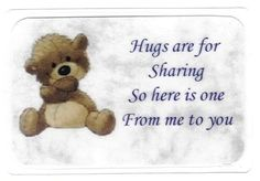 hugs pictures and quotes | ... with a hug card. This hug card has become one of our best sellers
