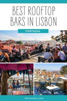 Visit Portugal, Lisbon Portugal, Travel Info, Work Travel, Travel Packing Outfits, Portugal Travel Guide, Work Trip, Best Rooftop Bars, Adventure Awaits
