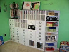 shelving organization
