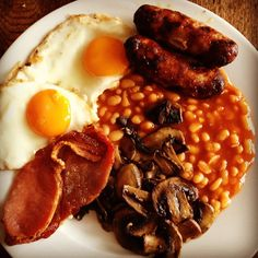 sometimes the only answer is a proper english breakfast