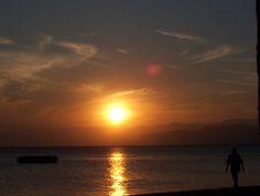 Sunset in Aquaba, Jordan