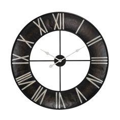 Open Ring Wall Clock