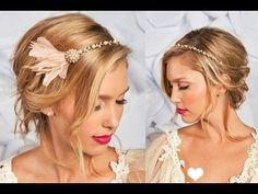 Wedding Hairstyles, Vintage Wedding Hairstyles, Curly Wedding Hairstyles