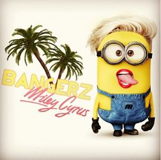Miley Cyrus http://multicitytoys.com/ Minions Images, Minions Quotes, Minions Despicable Me, Cute Minions, Laugh Out Loud, The Funny, Miley Cyrus, Minion Rock, Funny Quotes