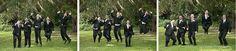 Lake Mary Events Wedding - Corner House Photography - Orlando Wedding Photographer- groomsmen jumping