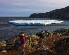 Spotting Icebergs in St. Anthony, Newfoundland - Wandering Wagars