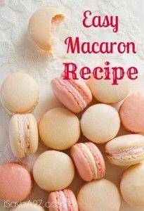 Easy Macaron Recipe | iSaveA2Z.com