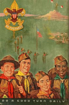 1965 Boy Scout Handbook – The Chawed Rosin Cub Scouts, Girl Scouts, Baden Powell Scouts, Eagle Scout Ceremony, Scout Camping, Vintage Boys, Norman Rockwell, Girl Guides, Illustrations