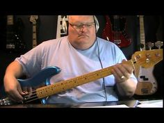 ▶ Cyndi Lauper She Bop Bass Cover with Notes & Tablature - YouTube