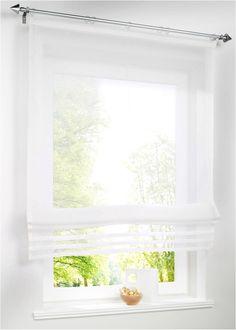 AuBergewohnlich Eine Hauchzarte Idee Für Ihr Fenster: Das Luftig Leichte Raffrollo