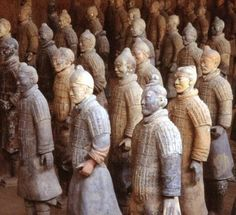 Dare to dream big: clay figures