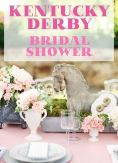 From the cake & decor, to music & what to wear -- the PERFECT guide to hosting the best #KentuckyDerby #BridalShower!