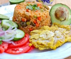 Arroz Apastelado Costeño (Sticky Rice from the Coast) My Colombian Recipes, Colombian Cuisine, Cuban Recipes, Latin American Food, Latin Food, Cooking Recipes, Healthy Recipes, Rice Recipes, One Pot Meals