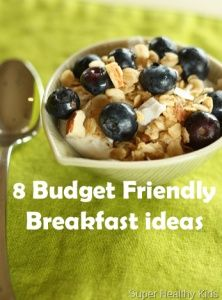 8 Budget Friendly Breakfast Ideas - Add some variety to your breakfast routine while saving money and STILL eating healthy!