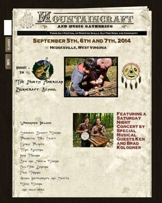 Event Registration | North American Bushcraft School