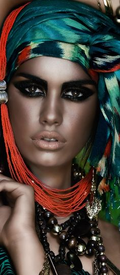 Gypsy:  #Gypsy. [This term not considered to be respecful - better terms are Roma People, or Romani]