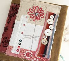 Art Quilt Journal Bliss by rebeccasower on Etsy, $75.00