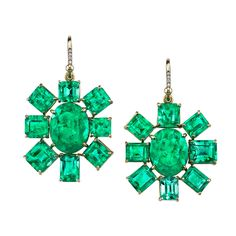 Irene Neuwirth | Jewelry emerald earrings