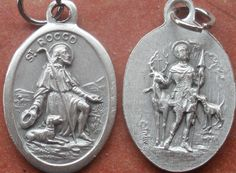Cherished Saints Saint Roch Saint Rocco & Saint by CherishedSaints