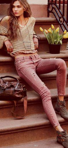 Karlie Kloss Bra Size Height Weight | herinterest.com