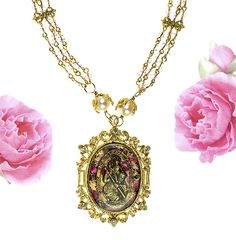 The Barbosa St. Cristobal Christopher Necklace matches the Annette Mini Dress in Pink perfectly!