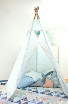 Tipi enfant #teepee #kidsroom - ♡ by www.lemondedesioux.com