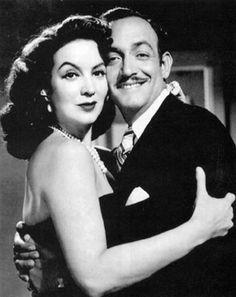 Mexican Film Legend Maria Felix & her third husband Jorge Negrete