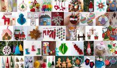 80+ felt ornaments