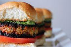 Veggie Masala Burgers with Cilantro Chutney Aioli Recipe on Food52 recipe on…