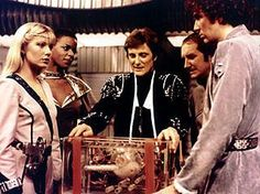 A guide listing the titles and air dates for episodes of the TV series Blake's Old Sci Fi Movies, Classic Sci Fi Movies, Sci Fi Tv Series, Sci Fi Tv Shows, 80s Sci Fi, Sci Fi Horror, Starship Concept, Bbc Tv, 80s Kids
