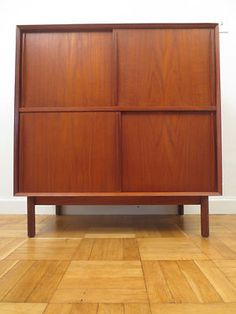 Peter Hvidt Mid Century Danish Modern Teak Cabinet; essential and beautiful piece...