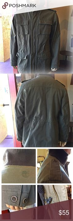Timberland Rugged Military Jacket Men S