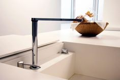 Sink with hidden faucet. – modern – kitchen – other metro – by Isolina Mallon In… - luxury kitchen Luxury Kitchen Modern, Kitchen Appliances Luxury, Kitchen Sink Taps, Hidden Kitchen, Interior, Modern Sink, Shaker Style Kitchens, Luxury Kitchen, Trendy Kitchen