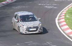 2017 Hyundai I30 N Hot Hatch Prototype Spotted Again (Video in New Hyundai I30 N Prototype