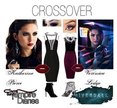 Katherine and Veronica Vampire Diaries Outfits, Katherine Pierce, Carven, Lord & Taylor, Hyde, Nasty Gal, Veronica, Givenchy, Classy