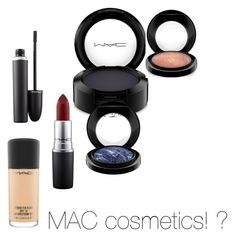 """Untitled #7"" by natalie-bachova on Polyvore featuring beauty and MAC Cosmetics"