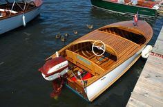 Speed Boats, Power Boats, Wooden Sailboat, Runabout Boat, Classic Wooden Boats, Vintage Boats, Chris Craft, Old Boats, Wooden Ship