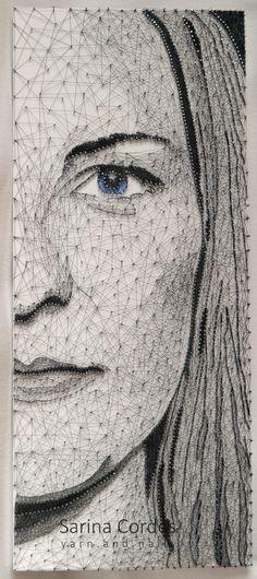 Nr. 18 - string art - portrait