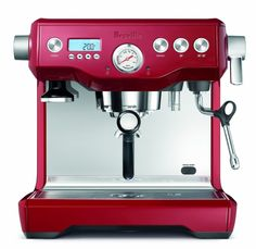 Breville Best Home Espresso Maker - Forgo the morning mud swilling that is the typical cup of Joe – elevate your status to that of cappuccino, and latte aficionado. Embrace the Zen-like experience of brewing your own espresso shots,