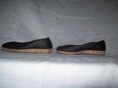 Zwarte platte schoenen maat 37-38 Prijs: € 12,50