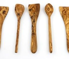 Tramanto Olive Wood Spatulas and Spoons Cooking Utensil Set, 12 inches - Corner Spoon, Round Spoon, Curved Spatula, Flat Spatula and Slotted Spatula Herb Butter, Garlic Butter, Pork Loin, Pork Roast, Shrimp And Sausage Pasta, Cajun Shrimp, Sweet Cream Corn, Cream Corn Casserole, Cowboy Casserole