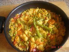 Paella vegetariana (Montse)