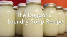 laundry detergent recipe - YouTube