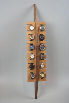 Surf a mano inspirado reloj estante en madera por BoisdeVivre