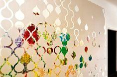 papier peint personnalisé avec trames pré-découpées - design par Znak