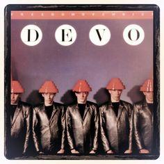 Devo Vintage Album Cover